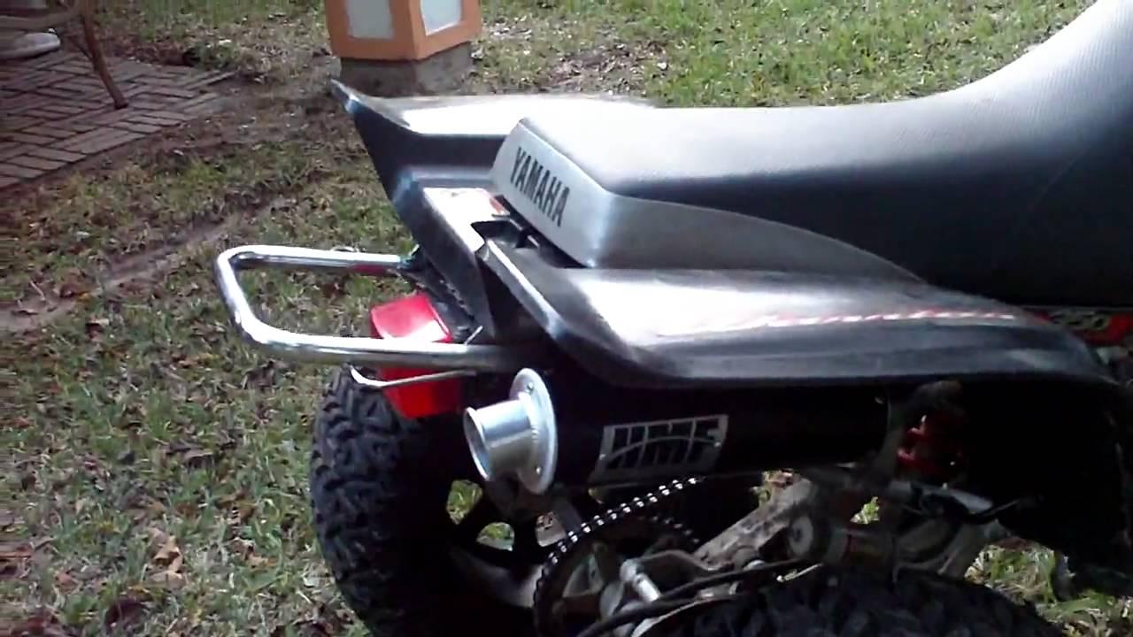 Yamaha Warrior  Slip On Exhaust
