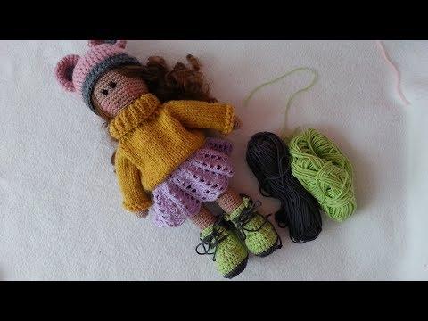 Two ways to crochet doll feet – Miss Dolkapots Krafties | 360x480