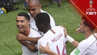 Ronaldo Eliminates Morocco With Yet Another Goal As Portugal Earn Three Points