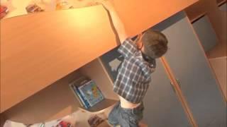 видео Детская и гостиная в одной комнате