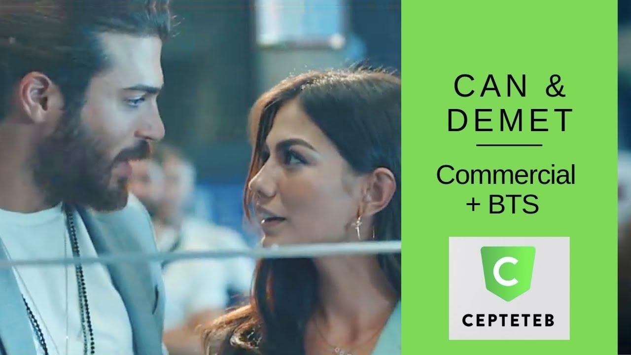 Can Yaman & Demet Ozdemir ❖ Cepteteb Commercial +BTS ❖ English ❖ 2019