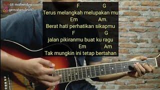 Kunci Gitar MENGHAPUS JEJAKMU - Peterpan | By GE Mahendra