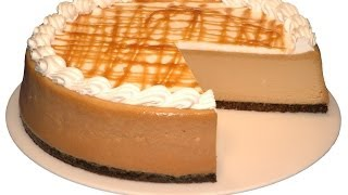 How To Make Caramel Macchiato Cheesecake