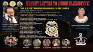 Urgent letter to QUEEN ELIZABETH II from HM. KING TVM-LSM-666 !!!