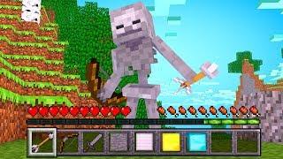 ИГРАЮ ЗА СКЕЛЕТА В МАЙНКРАФТ - БИТВА МОБОВ В Minecraft #1