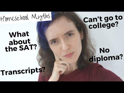 Debunking Homeschool Myths: Homeschool, Diplomas, and Going to College