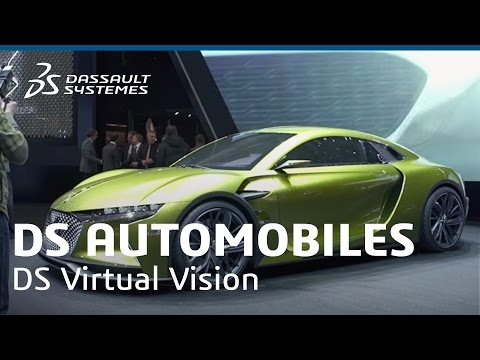 DS Automobiles - A Unique Immersive Experience with DS Virtual Vision - Dassault Systèmes