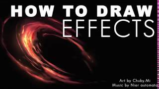HOW TO DRAW EFFECTS
