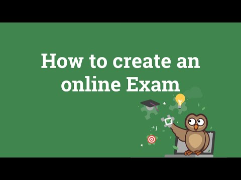 How To Create An Online Exam