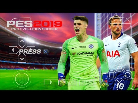 PES 2019 PPSSPP Android 900MB Offline Best Graphics New Kits & Transfers Update
