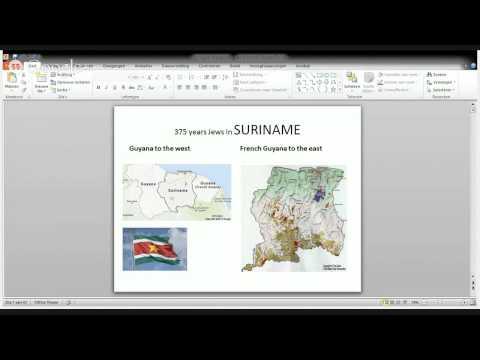 375 Years of Surinamese Jewish History