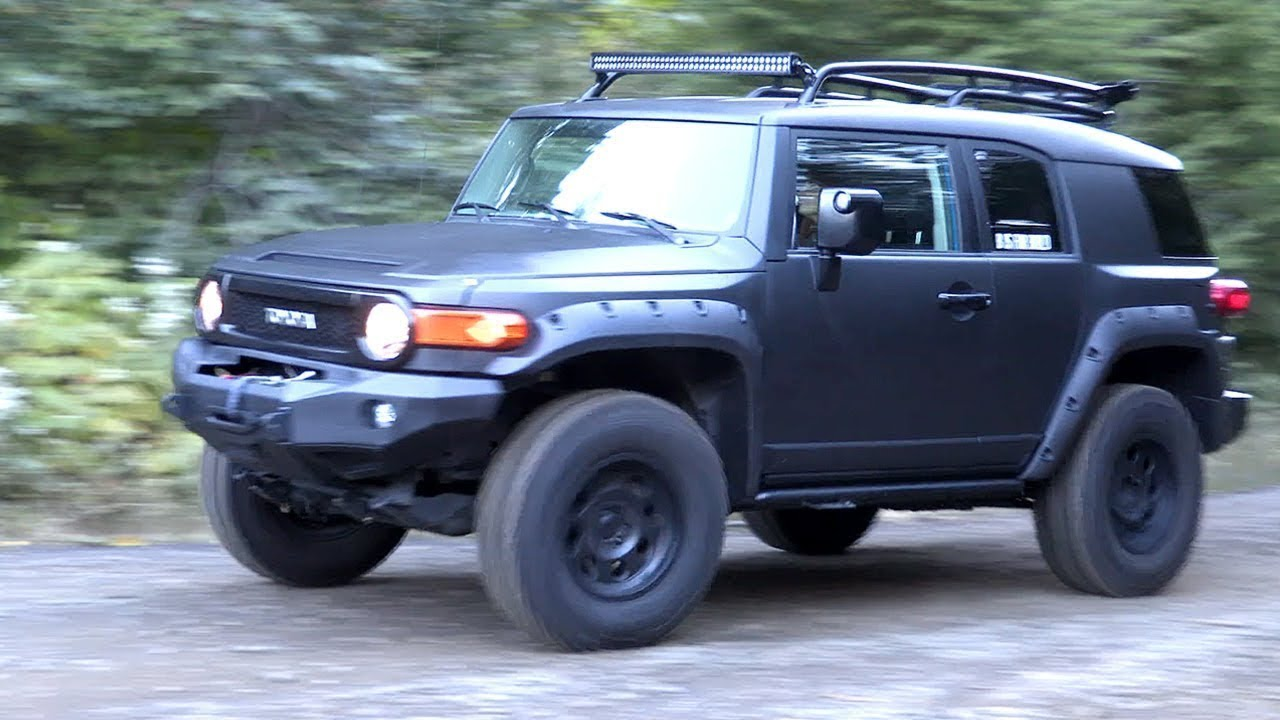 2007 fj cruiser engine swap