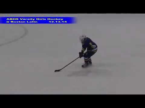 Acton Boxborough Varsity Girls Hockey @ Boston Latin 12/13/14