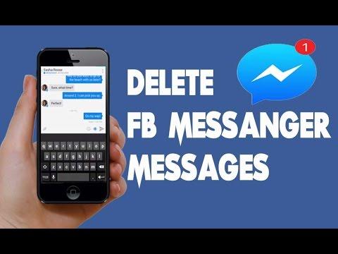 Delete facebook messages on facebook messenger youtube delete facebook messages on facebook messenger ccuart Choice Image