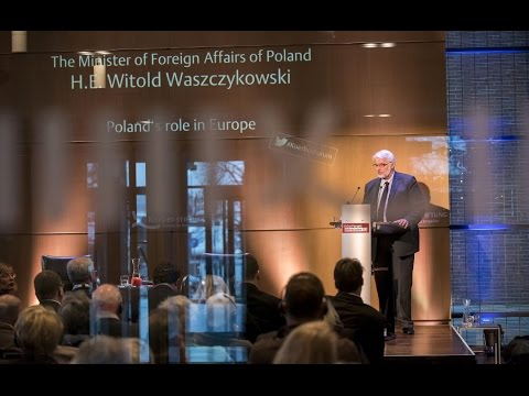 H.E. Witold Waszczykowski, Foreign Minister of the Republic of Poland, on Poland's role in Europe