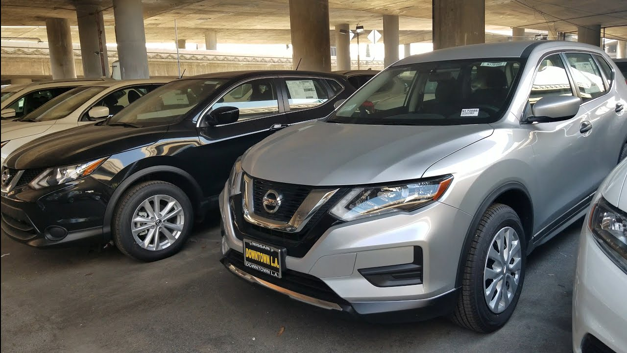 2017 Nissan Rogue Vs Sport Side By Comparison In Depth