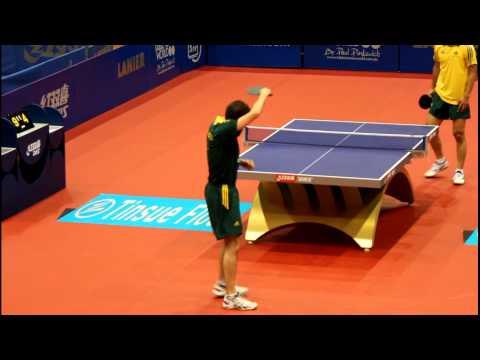 Oceania Qual Olympics 2012 W Henzell vs J Han Table Tennis HD FULL MATCH