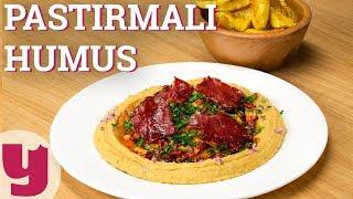 Pastirmali Humus Tarifi (Damakta İz Bırakır!)   Yemek.com