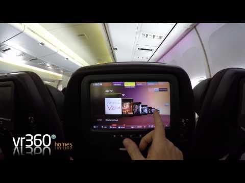 Virgin Atlantic In Flight Entertainment - Vera | VR360homes