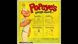 Jack Mercer & Mae Questel (as Popeye & Olive Oyl) - A Friend is Someone You Like