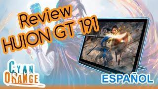 Review: Huion Kamvas GT 191 [Español] por Cyan Orange