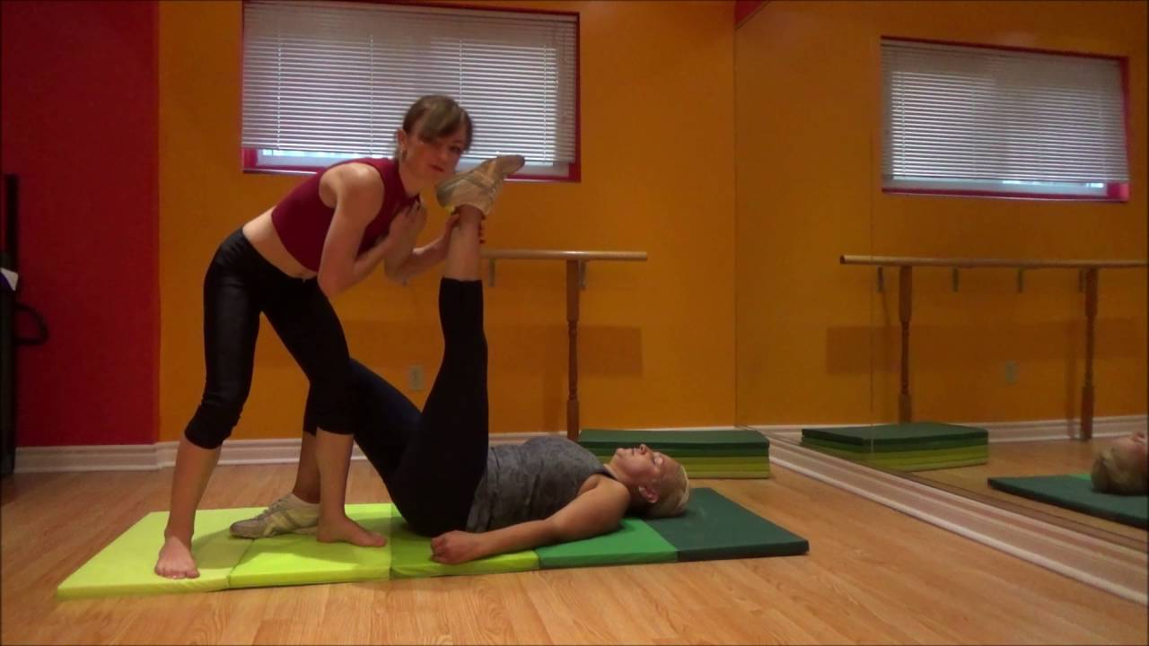 Image result for passive stretching