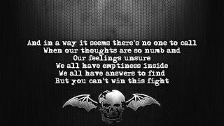 Avenged Sevenfold - Welcome To The Family [Lyrics on screen] [Full HD]