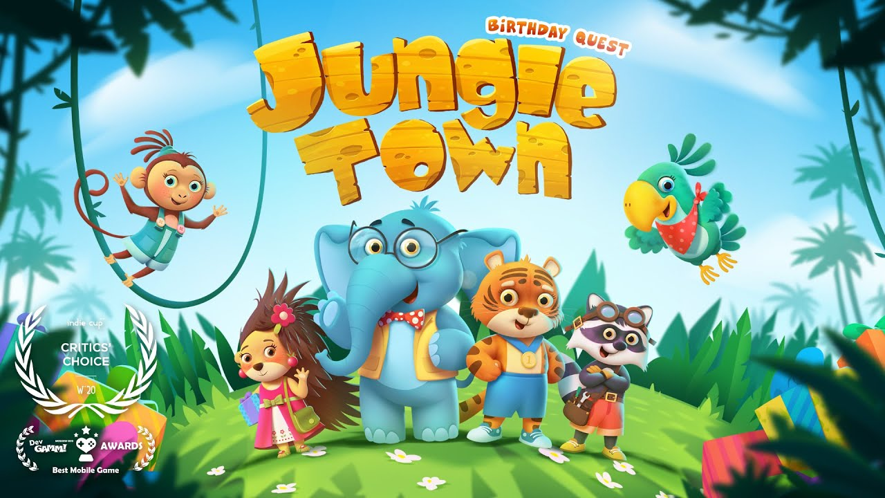 Jungle town: Birthday quest - Mobile Game