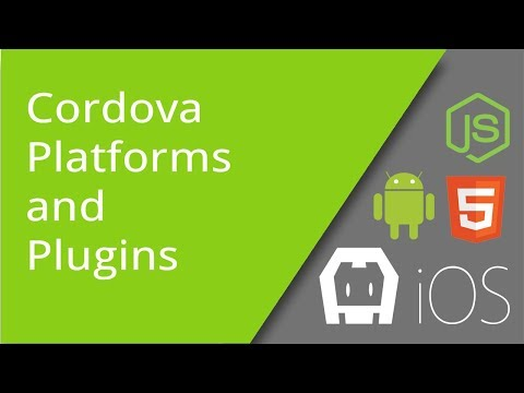 Installing Cordova 7 Mobile Platforms and Plugins