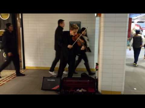 Violin - (Townhall Station, Sydney)