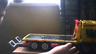 lego technic flatbed truck review