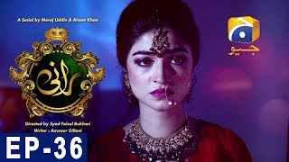 Rani - Episode 36 | Har Pal Geo