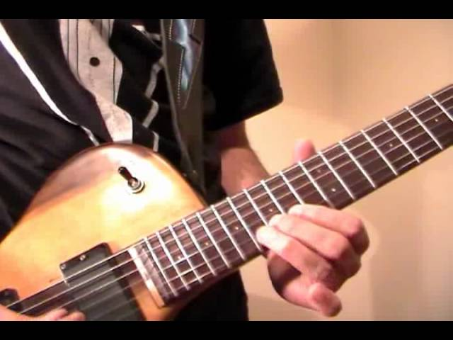 Canon Rock Solo Melody Guitar Lesson Part 2 Chords Chordify