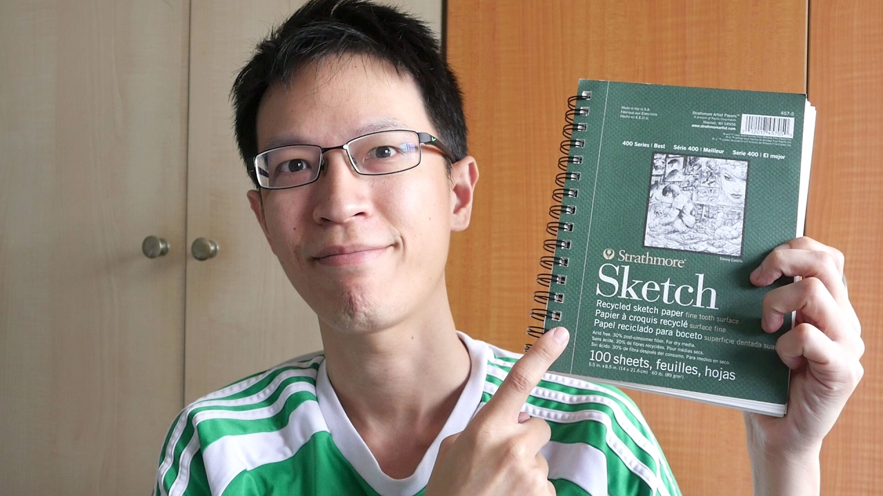 Review: Strathmore 400 Series Sketch Pad (89gsm recycled)