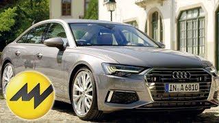 Neue Audi A6 Limousine Test deutsch 2018 C8 | Motorvision