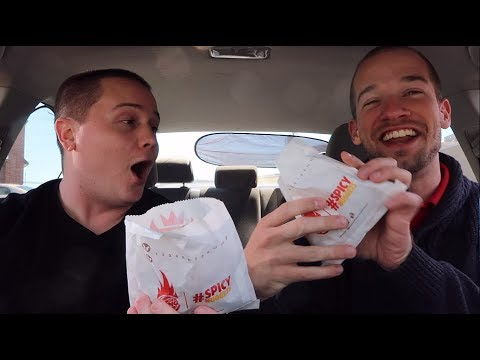 BURGER KING SPICY CHICKEN NUGGETS REVIEW
