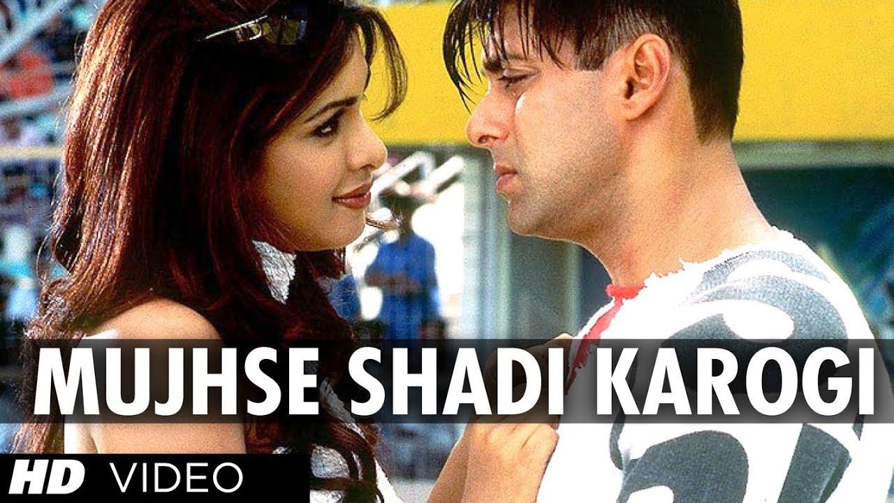 Download Mujhse Shadi Karogi Full Song | Mujhse Shaadi Karogi