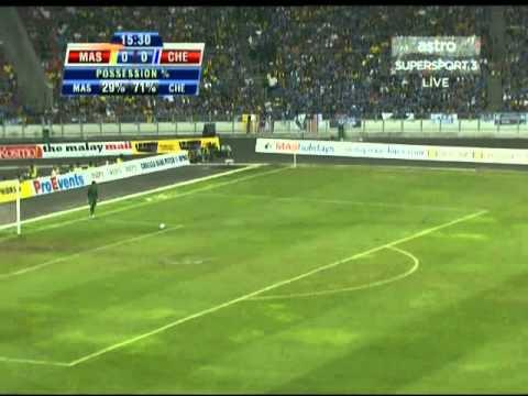 1st half - Malaysian XI v. Chelsea - 21-07-11