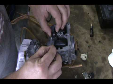 Part 68: Complete motorcycle carb rebuild. YZ250F example.