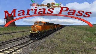 Прохождение сценария по маршруту  Marias Pass