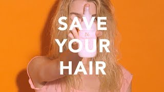 How to Protect Hair from Heat and UV Damage | Hairdresser's Invisible Oil | Bumble and bumble.