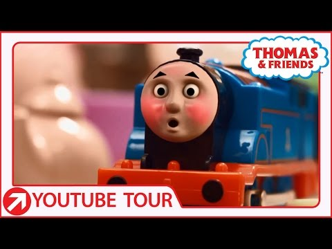 Thomas & Friends Monster In The Tunnel Toy Trains Episode - Train Toys for Kids Play - ToyTrains4uиз YouTube · Длительность: 5 мин24 с