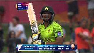 Pakistan vs UAE: Afridi gets to 8000 ODI runs. Watch ICC World Cup videos on www.starsports.com