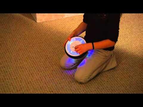 Air Power Soccer Disk Light Up
