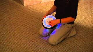 Air Power Soccer Disk Light Up