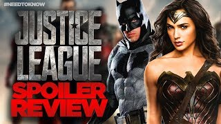 JUSTICE LEAGUE REVIEW - Critics Too Unfair? #NeedToKnow