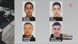 Le commando de terroristes marocains de Barcelone (F2, 18/08/17, 20h)