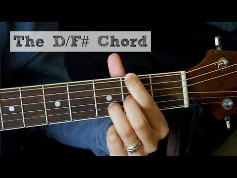 The D/F# Chord EASY VERSION || Guitar Tutorial - YouTube
