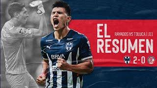 ¡Nuevo triunfo en el Estadio BBVA frente a Toluca! Te dejamos el Resumen de las mejores jugadas del Partido.