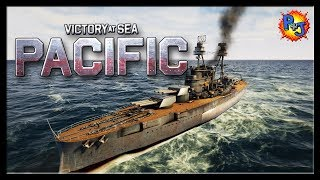 Let's Play Victory at Sea Pacific Gameplay |  New World War 2 Naval Strategy Game
